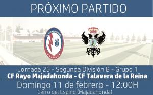 Rayo Majadahonda - CF Talavera: recuperar sensaciones ante un equipo en racha