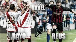 """Rayo Vallecano – CF Reus: jugando así, llegarán las victorias """"roig-i-negres"""""""
