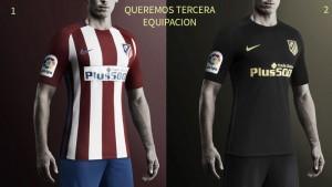 Torcedores do Atlético de Madrid criam abaixo-assinado pedindo terceiro uniforme