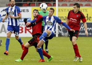 Resultado Deportivo La Coruñavs Mirandés en Copa del Rey 2016 (0-3)