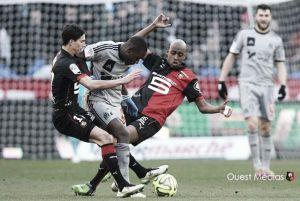 Ten Men Marseille Hold Rennes in Brittany