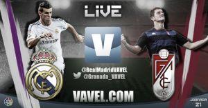 Diretta Real Madrid - Granada, live della partita di Liga