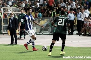 """Arrasate arremete contra el árbitro: """"El penalti lo ha cambiado todo"""""""