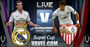 Diretta Real Madrid vs Siviglia, live Supercoppa d'Europa