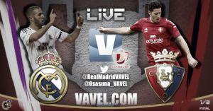 Diretta Real Madrid - Osasuna, live della partita di Coppa del Re
