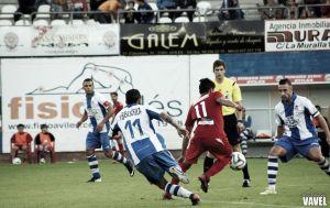 Fotos e imágenes del Real Avilés CF - CD Guijuelo, séptima jornada del Grupo I de Segunda División B