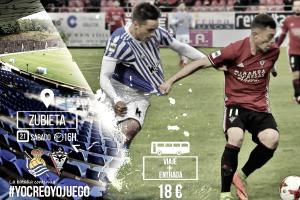 Real Sociedad B - CD Mirandés: asalto al liderato