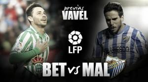 Real Betis - Málaga CF: El último 'empujón'