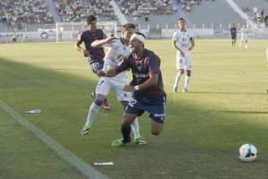 Numancia 4-2 Real Jaén: el balón parado castiga a los jiennenses