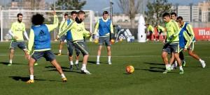El Real Madrid vuelve al trabajo sin Pepe ni Bale