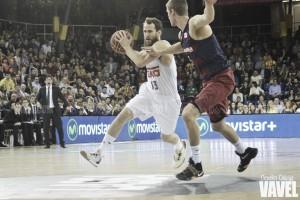 Espectacular remontada del Madrid para asaltar el Palau