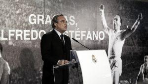 """Florentino: """"El recuerdo de Di Stéfano ayudará a no apartarnos del camino correcto"""""""