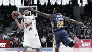 El Madrid ratifica el liderato derrotando al UCAM Murcia