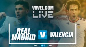 El Madrid se topa con un buen Valencia