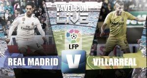 Resultado Real Madrid vs Villarreal en vivo (1-1)