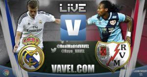 Real Madrid vs Rayo Vallecano en vivo y en directo online