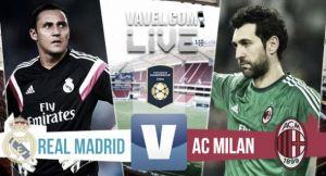 Live Milan - Real Madrid, in diretta l'amichevole precampionato (9-10 d.c.r)