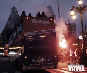 Fotos e imágenes de la celebración de ascenso a la Liga Adelante del Real Oviedo