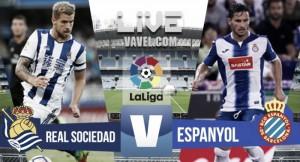 Resultado Real Sociedad vs Espanyol en vivo online en La Liga 2016