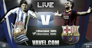Live Real Sociedad vs FC Barcelone, le match en direct