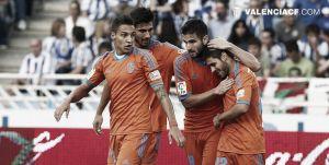 Real Sociedad - Valencia: puntuaciones del Valencia, jornada 6