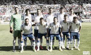Real Zaragoza - Sabadell: puntuaciones del R. Zaragoza, jornada 4