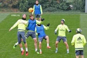 Modric y Carvajal vuelven al trabajo con el grupo