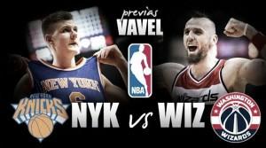 Previa Knicks - Wizards: en busca del mejor nivel