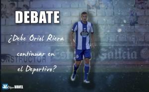 Debate:¿debe Oriol Riera continuar en el Deportivo?