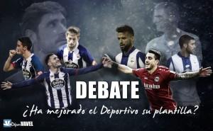 Debate: ¿Ha mejorado el Deportivo su plantilla?