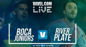 Resultado y gol Boca vs River (1-0)