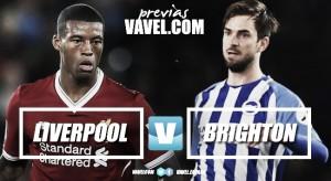 Previa Liverpool - Brighton: los 'Reds' quieren Champions