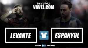 Previa Levante UD - RCD Espanyol: Necesidad vs ilusión