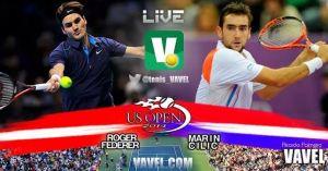 Cilic será el penúltimo peldaño camino a la gloria para Federer