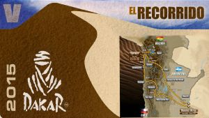 Rally Dakar 2015: el recorrido