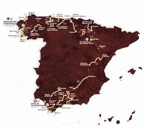De Jerez de la Frontera a Santiago de Compostela
