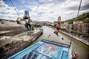 Bilbao, lista para el Red Bull Cliff Diving