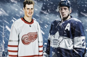Leafs, Wings y Penguins estrenan jerseys para los 'outdoors'