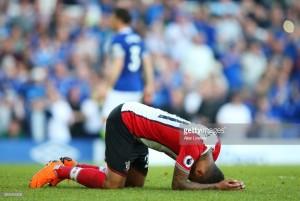 Everton 1-1 Southampton: Late Davies strike leaves Saints level with fellow strugglers Swansea