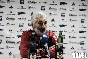 """José Antonio Redondo: """"Conseguir los tres puntos nos daría tranquilidad"""""""