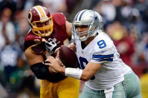 Romo conserva la cabellera ante los Redskins