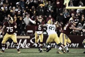 Kirk Cousins brilha, Redskins vence Packers e segue entre os melhores da NFC