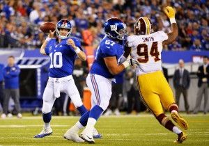 Washington Redskins vs New York Giants Match Preview: Both Sides Looking To Get Ahead In NFC East