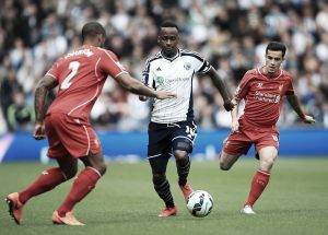 West Brom 0-0 Liverpool: Reds draw a blank as top-four dreams fade away