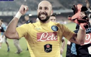 Pepe Reina tiene in ansia il Napoli