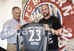 Pepe Reina, el cuarto español en el Bayern de Múnich