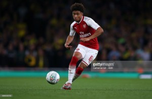 Reiss Nelson opens up about dream of playing for Arsenal