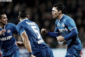 El PSV arrebata la victoria en el descuento al Heracles
