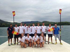 La Selección Española Juvenil de Remo, a por las medallas en la Copa de la Juventud