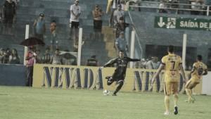 Destaque nos últimos jogos, goleiro Renan Rocha comemora momento do Paysandu